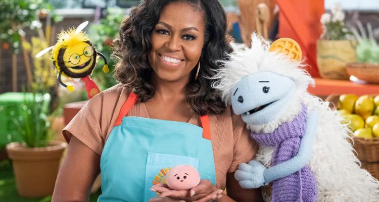 Michelle Obama lança série de culinária